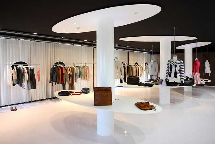 Reforma de D3 para el Showroom de Hugo Boss